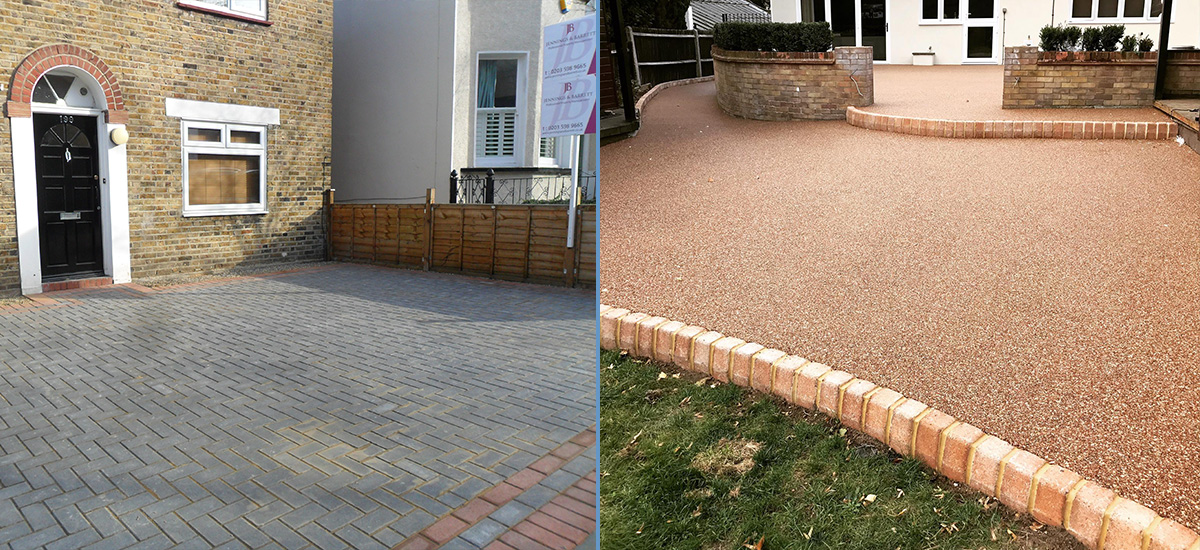 Driveways and Patios by Gartel Design and Construction